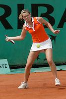 4-6-06,France, Paris, Tennis , Roland Garros, Marlot Meddens