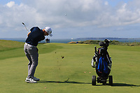 Ronan Mullarney (Galway) on the 6th fairway during the Final of the AIG Irish Amateur Close Championship 2019 in Ballybunion Golf Club, Ballybunion, Co. Kerry on Wednesday 7th August 2019.<br /> <br /> Picture:  Thos Caffrey / www.golffile.ie<br /> <br /> All photos usage must carry mandatory copyright credit (© Golffile | Thos Caffrey)