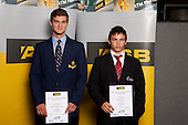 Weightlifting Boys finalists Scott Pardington and Josh Milne. ASB College Sport Young Sportsperson of the Year Awards held at Eden Park, Auckland, on November 11th 2010.