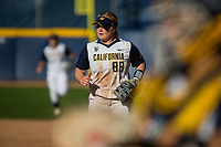 Berkeley  CA - April 28th, 2017:  The Cal Berkeley Softball  Team vs Washington Huskies at LEVINE-FRICKE FIELD in Berkeley, California.  The final score:  The Cal Berkeley Bears lost 0 - 4.