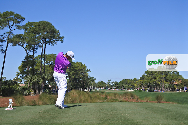 Padraic Harrington (IRL) on the 2nd during round 2 of the Honda Classic, PGA National, Palm Beach Gardens, West Palm Beach, Florida, USA. 26/02/2016.<br /> Picture: Golffile | Fran Caffrey<br /> <br /> <br /> All photo usage must carry mandatory copyright credit (&copy; Golffile | Fran Caffrey)