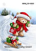 Roger, CHRISTMAS ANIMALS, WEIHNACHTEN TIERE, NAVIDAD ANIMALES, paintings+++++,GBRMCX-0003,#xa#