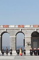 Pascua Militar' ceremony at The Royal Palace. January 06, 2013. (ALTERPHOTOS/Caro Marin)