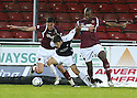 26/12/2009  Copyright  Pic : James Stewart.sct_jspa28_falkirk_v_hearts  .:: RYAN FLYN TRIES TO GET AWAY FROM RUBEN PALAZUELOS AND JOSE GONCALVES:: .James Stewart Photography 19 Carronlea Drive, Falkirk. FK2 8DN      Vat Reg No. 607 6932 25.Telephone      : +44 (0)1324 570291 .Mobile              : +44 (0)7721 416997.E-mail  :  jim@jspa.co.uk.If you require further information then contact Jim Stewart on any of the numbers above.........