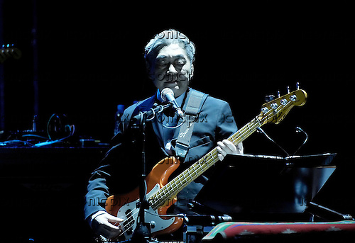 Yellow Magic Orchestra - <br /> bassist Haruomi Hosono performing live at the Royal Festival Hall as guests of the 2008 Meltdown Festival curated by Massive Attack.- <br /> London, UK - 16 June 2008.  Photo credit: George Chin/IconicPix **NOT AVAILABLE FOR JAPAN**