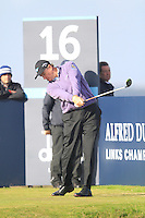 Ernie Els (RSA) during the Final Day of the Alfred Dunhill Links Championship at St. Andrews Golf Club on Sunday 29th September 2013.<br /> Picture:  Thos Caffrey / www.golffile.ie
