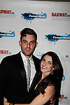 Zak Resnick & Carleigh Bettiol at The Stars of Broadway 2015 New Year's Eve Times Square Ball Drop on December 31, 2014 at the Copacabana, New York City, New York.  (Photo by Sue Coflin/Max Photos)
