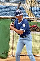 Kansas City Royals Bob Boone during spring training circa 1989 at Baseball City Stadium in Davenport, Florida.  (MJA/Four Seam Images)