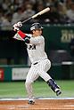 Hayato Sakamoto (JPN), <br /> MARCH 7, 2017 - WBC :<br /> 2017 World Baseball Classic First Round Pool B Game between<br /> Japan 11-6 Cuba at Tokyo Dome in Tokyo, Japan.<br /> (Photo by Yusuke Nakanishi/AFLO SPORT)