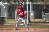 Cincinnati Reds right fielder Mitch Piatnik (51) during a Minor League Spring Training game against the Chicago White Sox at the Cincinnati Reds Training Complex on March 28, 2018 in Goodyear, Arizona. (Zachary Lucy/Four Seam Images)