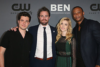 BEVERLY HILLS, CA - AUGUST 4: Ben Lewis, Stephen Amell, Katherine McNamara, David Ramsey, at The CW's Summer TCA All-Star Party at The Beverly Hilton Hotel in Beverly Hills, California on August 4, 2019. <br /> CAP/MPI/FS<br /> ©FS/MPI/Capital Pictures