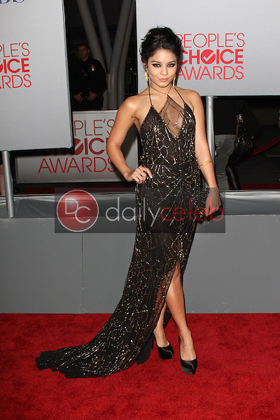 Vanessa Hudgens<br /> at the 2012 People's Choice Awards Arrivals, Nokia Theatre. Los Angeles, CA 01-11-12<br /> David Edwards/DailyCeleb.com 818-249-4998