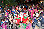 The large crowd who gathered to welcome Santa Claus in Killorglin on Sunday evening......
