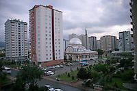The city of Kayseri in central Anatolia, Turkey