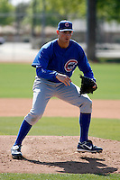 Chris Carpenter - Chicago Cubs - 2009 spring training.Photo by:  Bill Mitchell/Four Seam Images