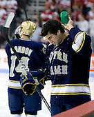 Kyle Palmieri (Notre Dame - 10) - The University of Notre Dame Fighting Irish defeated the Boston University Terriers 3-0 on Tuesday, October 20, 2009, at Agganis Arena in Boston, Massachusetts.