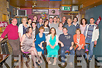 BIRTHDAY GIRL: Melanie Cruise, Greystones, Wicklow (originally Tralee) (seated centre) having a great time celebrating her 30th birthday with family and friends at the Greyhound bar, Tralee on Sunday.