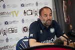 Cardiff Met Football Club <br /> Manager Christian Edwards Press Conference.<br /> 13.06.19<br /> ©Steve Pope<br /> Sportingwales