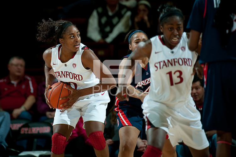 STANFORD, CA - JANUARY 6: Nnmekadi Ogwumike  at Maples Pavilion, January 6, 2011 in Stanford, California.