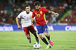 Georgia's Abujarnia and Spain's Nolito during the up match between Spain and Georgia before the Uefa Euro 2016.  Jun 07,2016. (ALTERPHOTOS/Rodrigo Jimenez)