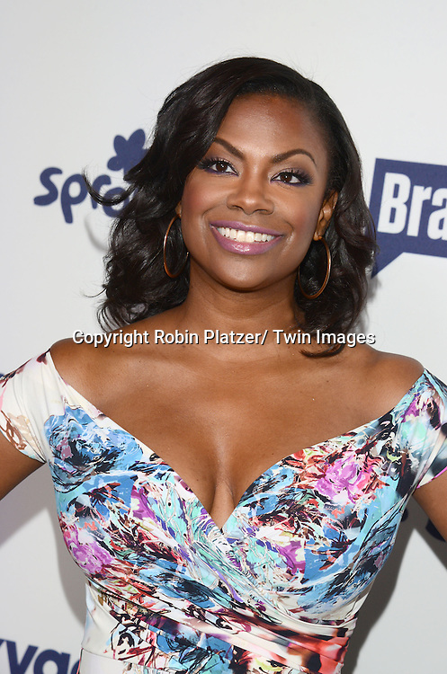 Kandi Burruss attends the NBCUniversal Cable Entertainment Upfront <br /> on May 15, 2014 at The Javits Center North Hall in New York City, New York, USA.
