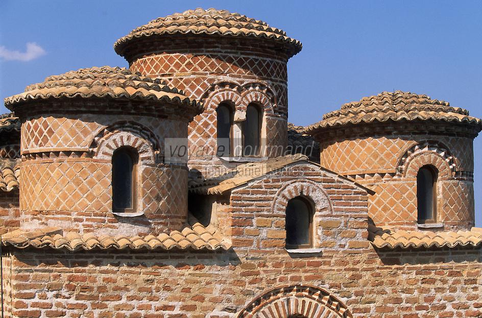 Europe/Italie/Calabre/Stilo : La Cattolica église byzantine du XII°