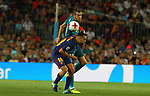 Bale in action during Supercopa de España game 1 between FC Barcelona against Real Madrid at Camp Nou