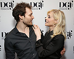 Oliver Houser and Judith Light attends the 2019 DGF Madge Evans And Sidney Kingsley Awards at The Lambs Club on March 18, 2019 in New York City.
