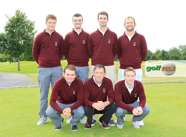 The Ballybunion Team during the Munster Finals of the AIG Barton Shield &amp; Senior Cup at Dungarvan Golf Club on Saturday 15th August 2015.<br />