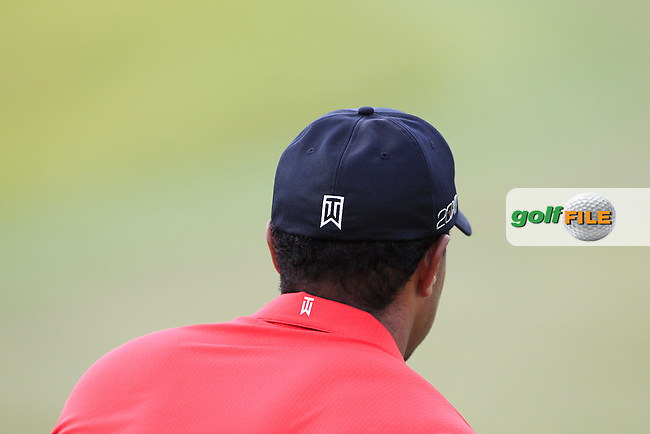 Tiger Woods (USA) lines up his putt on the 3rd green during Sunday's Final Round of the WGC Cadillac Championship at TPC Blue Monster, Doral Golf Resort & Spa, Miami Florida, 11th March 2012 (Photo Eoin Clarke/www.golffile.ie)