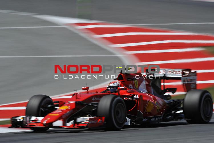 07.05 - 10.05.2015, Circuit de Catalunya, Barcelona, ESP, Formel 1, 2015,  im Bild  Kimi Raikkonen (FIN), Scuderia Ferrari<br />  Foto &copy; nph / Mathis