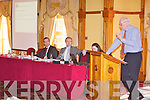 SPEAKER: Marcus Tracey (OCKT) speaking at the Kerry Law Society Insolvency Seminar at the Meadowlands hotel, Tralee on Friday.