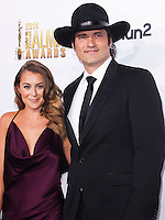 PASADENA, CA, USA - OCTOBER 10: Alexa PenaVega, Robert Rodriguez arrive at the 2014 NCLR ALMA Awards held at the Pasadena Civic Auditorium on October 10, 2014 in Pasadena, California, United States. (Photo by Celebrity Monitor)