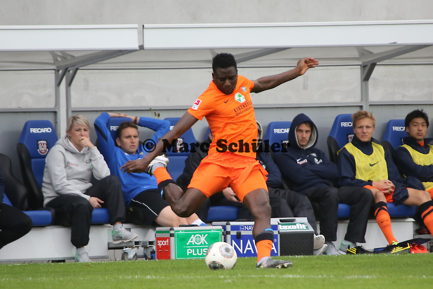 Solomon Okrowonkwo (Aue) - FSV Frankfurt vs. FC Erzgebirge Aue, Frankfurter Volksbank Stadion