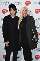 Gary Numan<br /> at The Ivor Novello Awards 2017, Grosvenor House Hotel, London. <br /> <br /> <br /> &copy;Ash Knotek  D3267  18/05/2017