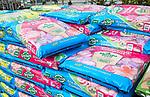 Bags of ericaceous compost on sale Ladybird Nurseries garden centre, Gromford, Suffolk, England, UK