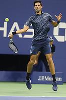 Novak Djokovic<br /> Tennis USopen Day4.  8-30-2018<br /> Photo by John Barrett/PHOTOlink.net