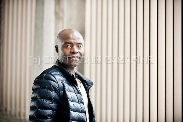 Retired Belgian football player Mbo Mpenza (Belgium, 04/05/2015)