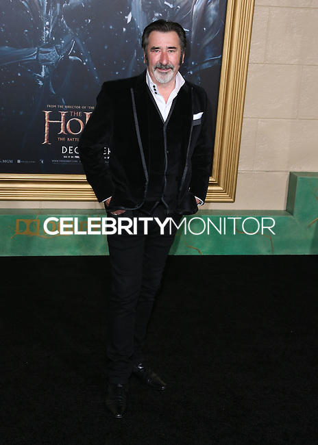 HOLLYWOOD, LOS ANGELES, CA, USA - DECEMBER 09: William Kircher arrives at the World Premiere Of New Line Cinema, MGM Pictures And Warner Bros. Pictures' 'The Hobbit: The Battle of the Five Armies' held at the Dolby Theatre on December 9, 2014 in Hollywood, Los Angeles, California, United States. (Photo by Xavier Collin/Celebrity Monitor)