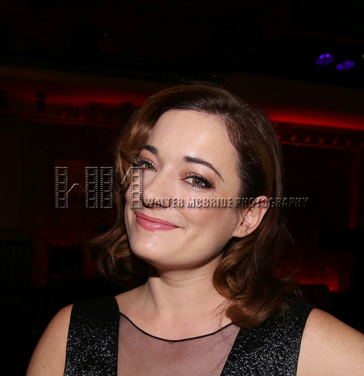 Laura Michelle Kelly during the Feinsteins/54 Below Press Preview at Feinsteins/54 Below on April 7, 2016 in New York City.