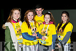 Dominika Gwizdzinska, Niamh Fallon, Eimear Fleming, Aoife Mooney all Killarney Nina Donnelly Dingle at the Killarney Darkness into Light walk at Killarney Racecourse Saturday morning