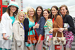 Aisling O'Connor, Sarah Butler, Audrey Costello, Catriona Walsh, Katie Browne, Stephenie Blake and Tracey Walsh, Ballybunion pictured at Listowel races on Sunday.