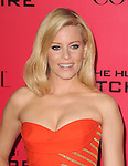 LOS ANGELES, CA - NOVEMBER 18: Elizabeth Banks arrives at   THE HUNGER GAMES: CATCHING FIRE L.A. Premiere held at Nokia Live  in Los Angeles, California on November 18,2012                                                                               © 2013  Hollywood Press Agency