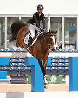 Mika ridden by Reed Kessler,  USEF trials#2 Wellington Florida. 3-22-2012