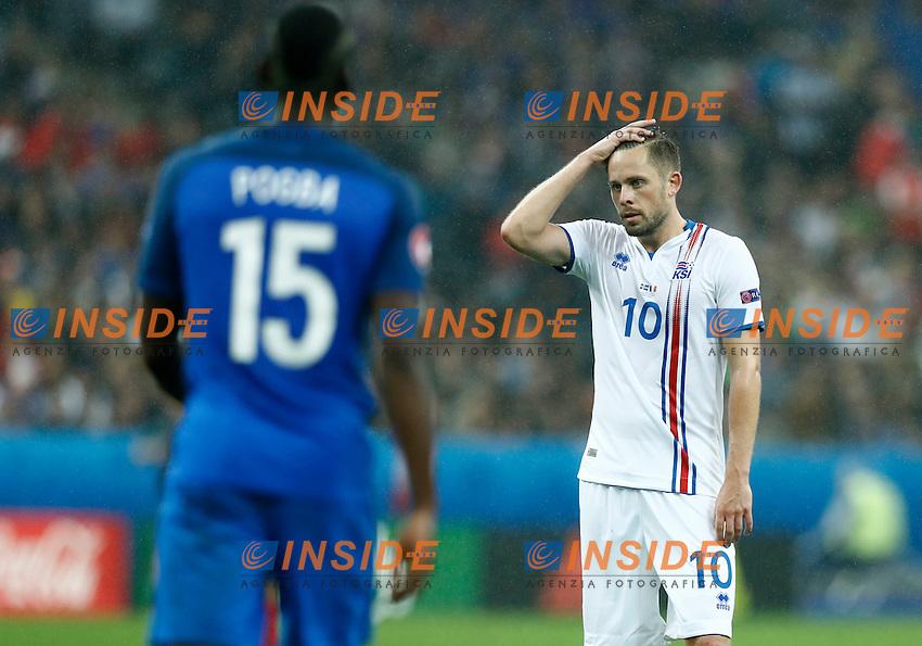 Gylfi Sigurdsson (Iceland) delusion. delusione<br /> Paris 03-07-2016 Stade de France Football Euro2016 France - Iceland / Francia - Islanda Quarter finals <br /> Foto Matteo Ciambelli / Insidefoto