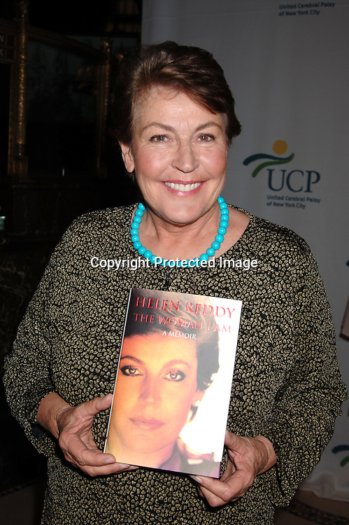 "Helen Reddy with her new book"" The Woman I Am"" ..at The 5th Annual Women Who Care Luncheon benefitting ..United Cerebral Palsy of New York City on May 4, 2006 ..at Cipriani 42nd Street...Robin Platzer, Twin Images"
