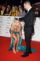 LONDON, UK. January 22, 2019: Christine McGuinness &amp; Paddy McGuinness at the National TV Awards 2019 at the O2 Arena, London.<br /> Picture: Steve Vas/Featureflash