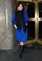 NEW YORK, NY - JANUARY 3: Marilu Henner seen after an appearance on New York Live in New York City on January 3, 2018. <br /> CAP/MPI/RW<br /> &copy;RW/MPI/Capital Pictures