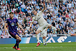 Real Madrid's Gareth Bale during La Liga match between Real Madrid and Real Club Celta de Vigo at Santiago Bernabeu Stadium in Madrid, Spain. March 16, 2019. (ALTERPHOTOS/A. Perez Meca)