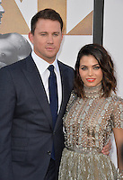 Channing Tatum &amp; wife Jenna Dewan Tatum at the world premiere of his movie &quot;Magic Mike XXL&quot; at the TCL Chinese Theatre, Hollywood.<br /> June 25, 2015  Los Angeles, CA<br /> Picture: Paul Smith / Featureflash